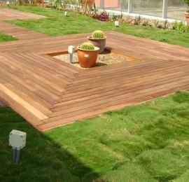 External Wooden Flooring